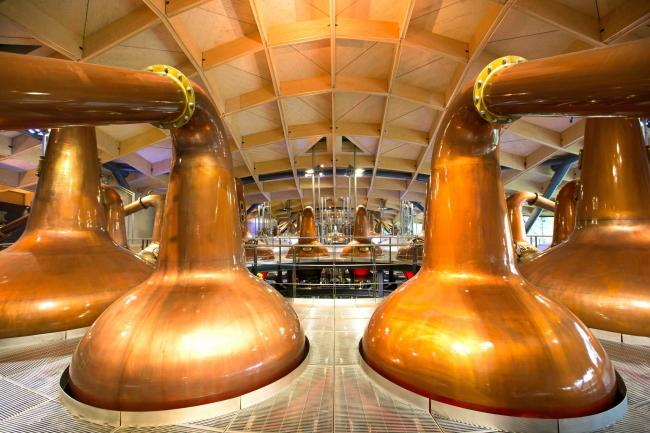 Embargoed to 0001 Tuesday May 22..EDITORIAL USE ONLY..A general view of The Macallan Distillery, which after a multi-million pound development will start creating the world famous whisky, as well as functioning as a visitor centre beside Easter Elchies Ho