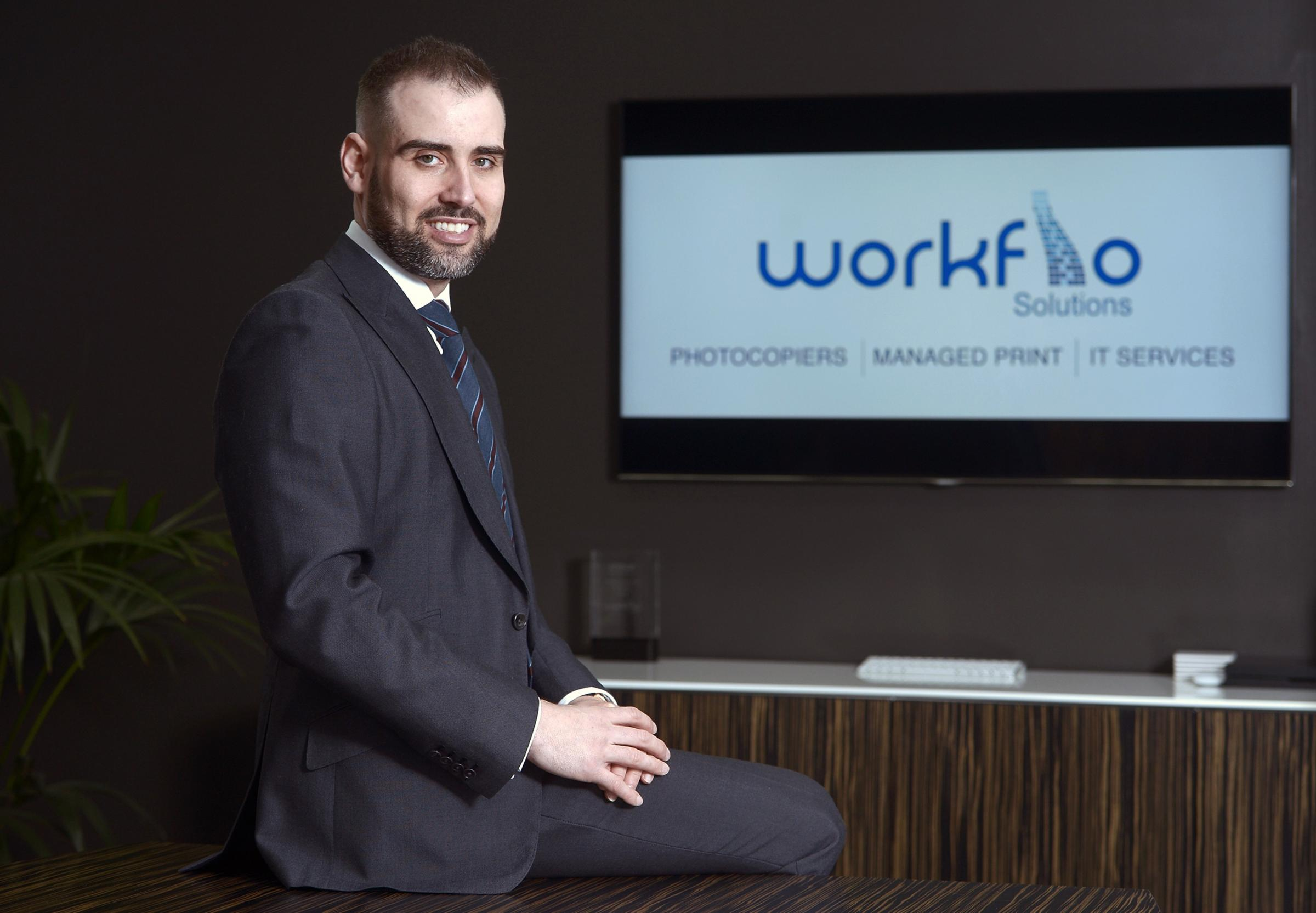 Michael Field set up his IT services business in 2007 on his credit card and now employs 18 staff