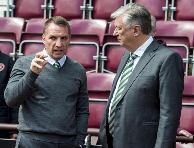 751ab48399e77 Celtic manager Brendan Rodgers has fractured his relationship with chief  executive Peter Lawwell this week
