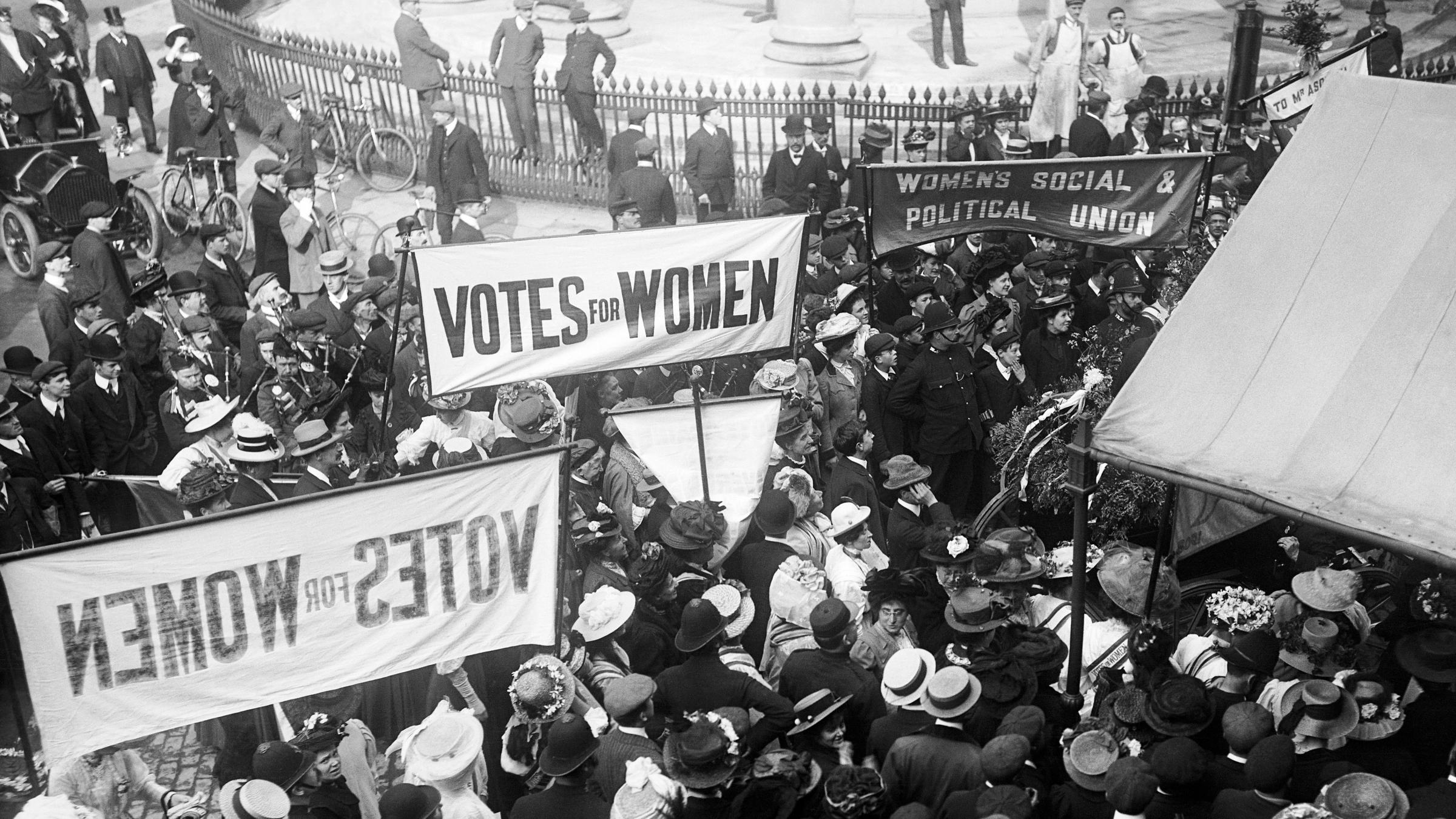 Sites of suffragette protest and sabotage recognised in official heritage list