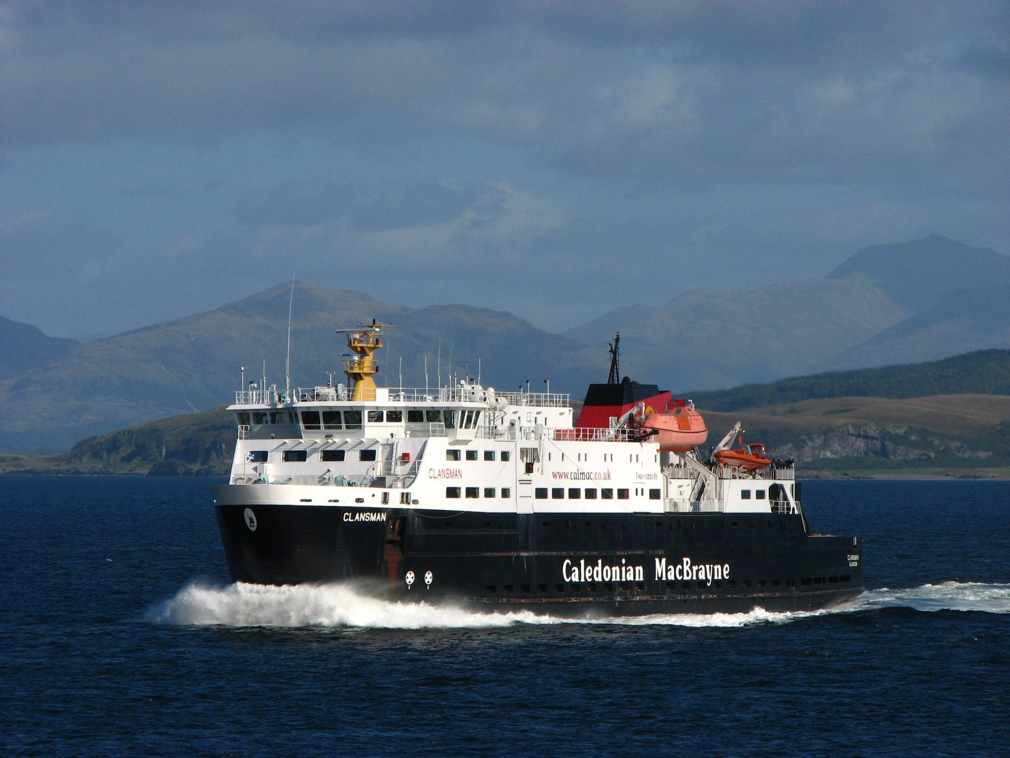 The MV Clansman will host onboard seminars for business people.