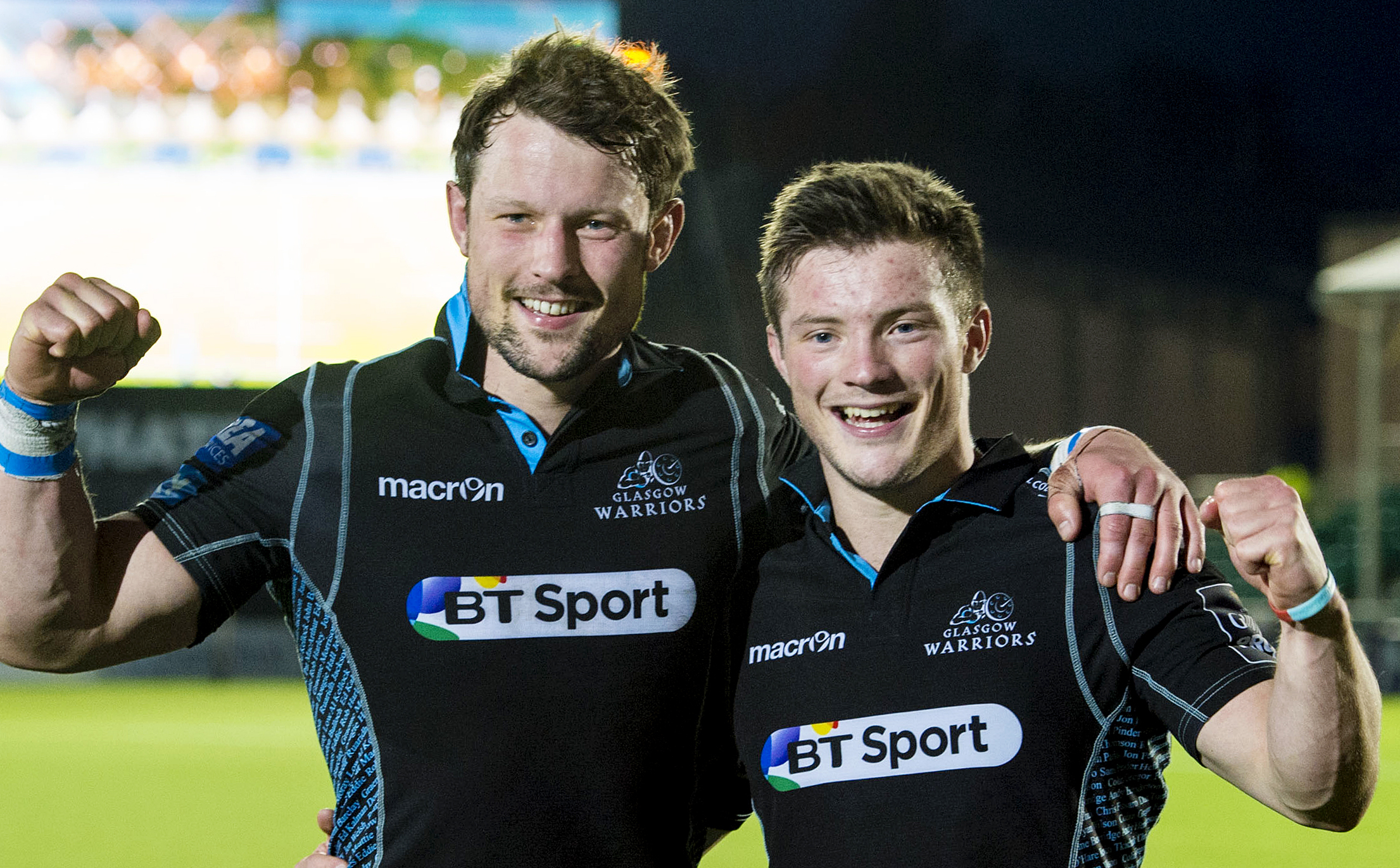 Oh brother... Scotland Gregor Townsend brings cheer to Horne and Fagerson families as he makes changes