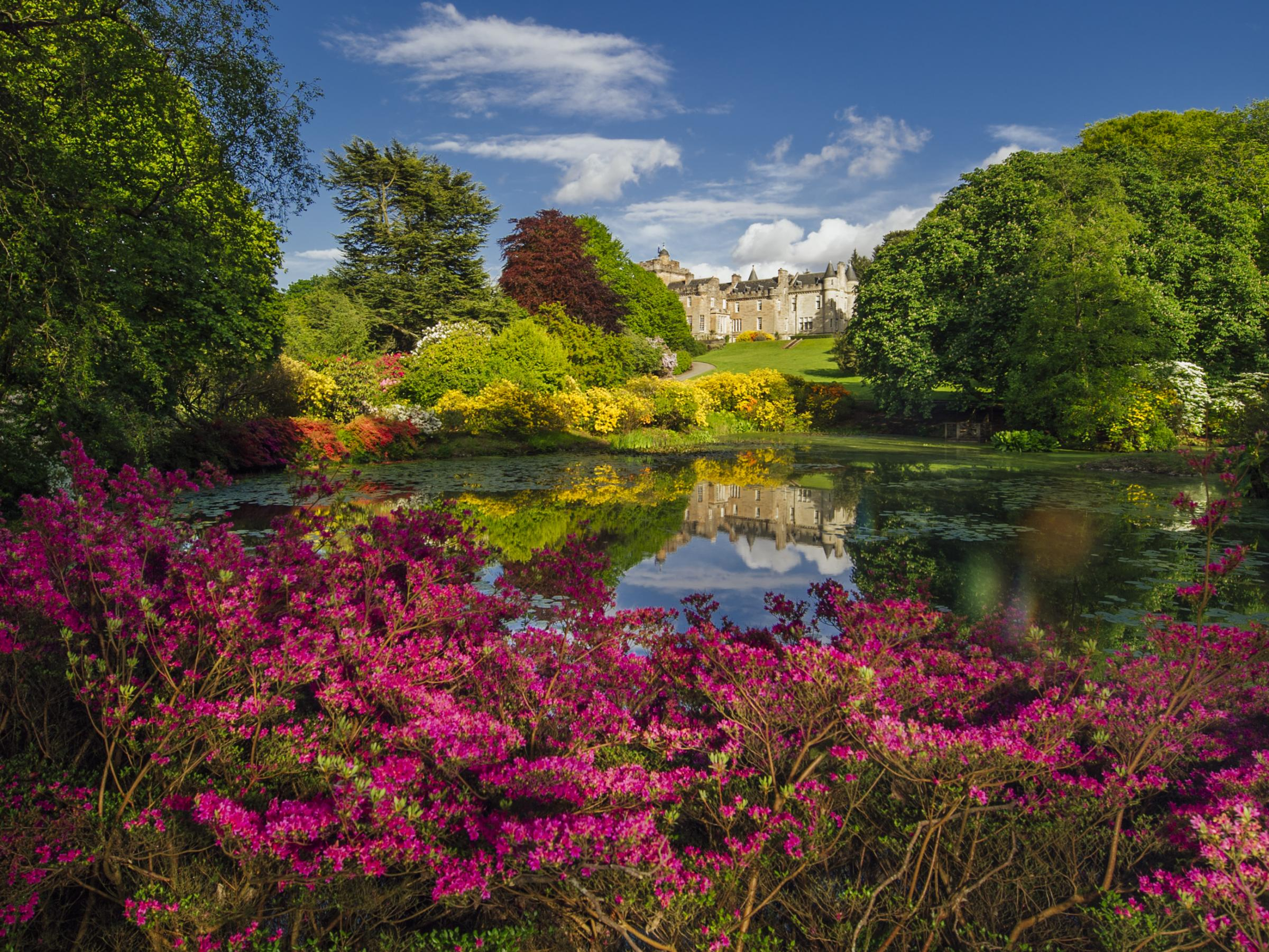 The gardens at Glenapp Castle, Ayrshire. Picrture: Paul Walker/Glenapp Castle