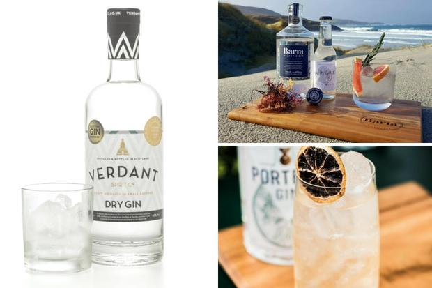 Get into the summer spirit with these great Scottish gins