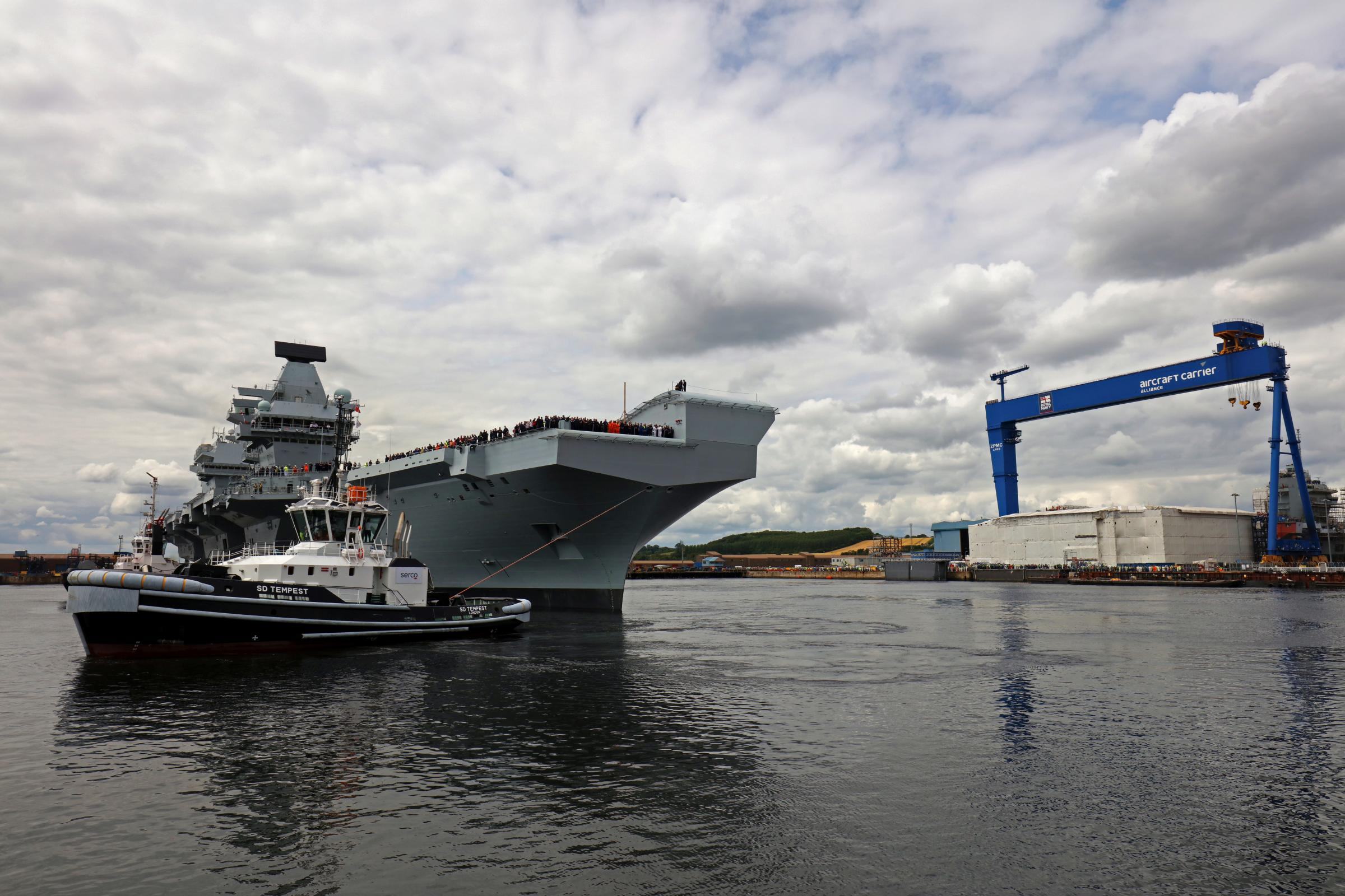 Scottish jobs boost as Babcock win race to build Royal Navy frigates