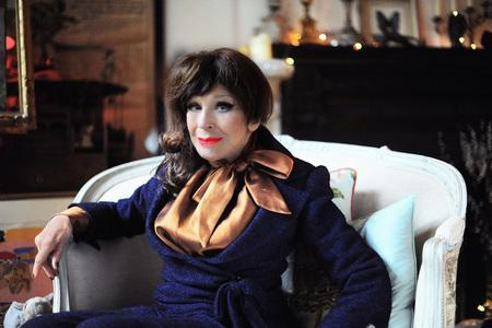 HeraldScotland: CLASSY: Fenella Fielding will be reading excepts from her memoir, 'Do You Mind If I Smoke?'       Picture: ETIENNE GILFILLAN