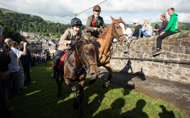The Langholm common riding is the town's most popular festival