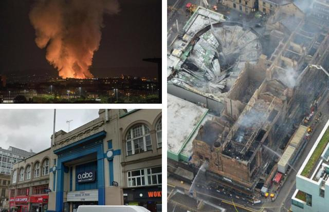 Concern for O2 ABC as gigs up to April, 2019 are moved after Glasgow Art School blaze