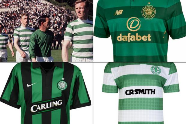 Commercial feature: The best shirts in Celtic's history
