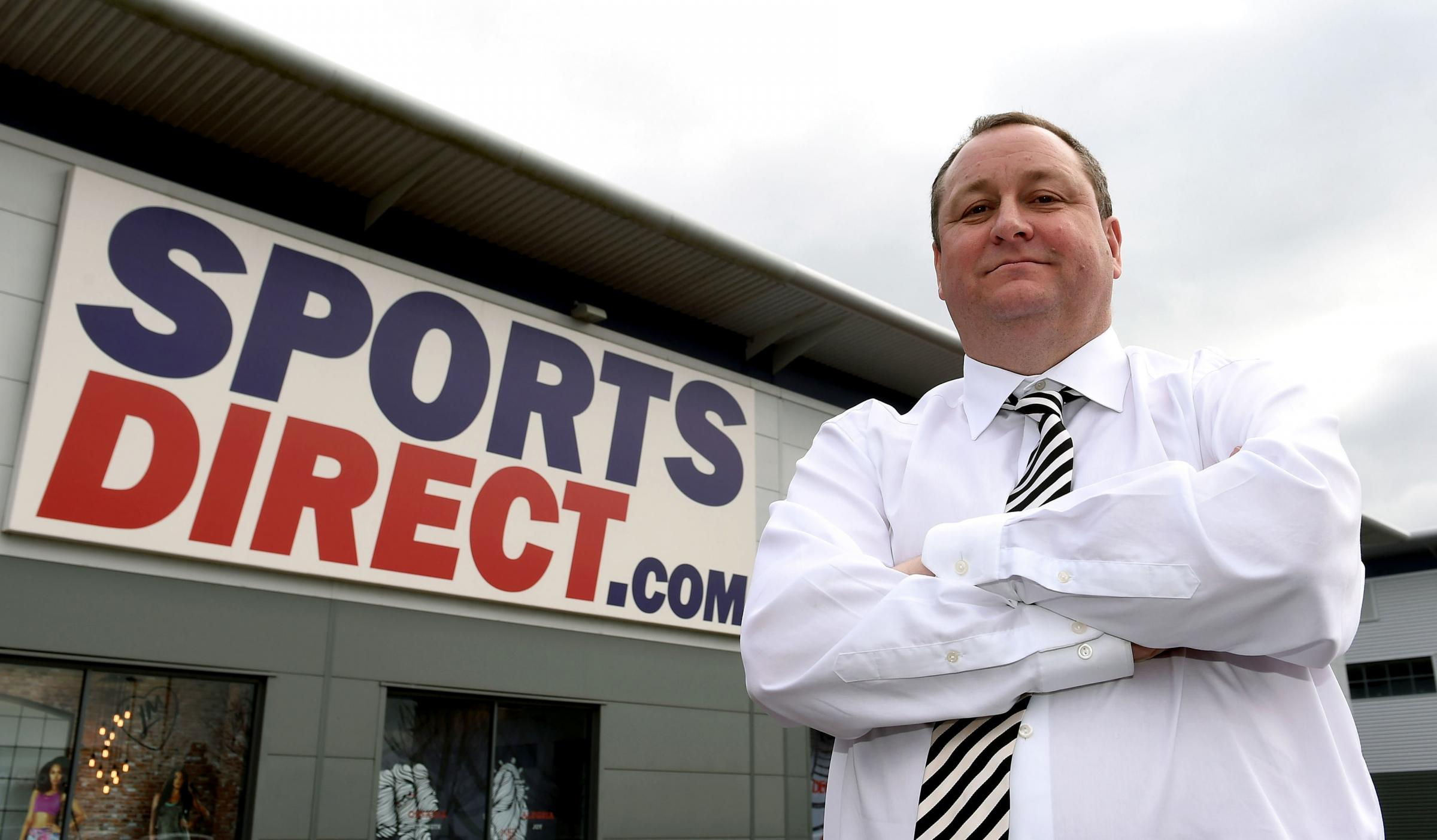 Sports Direct founder Mike Ashley. Photograph: Joe Giddens/PA Wire