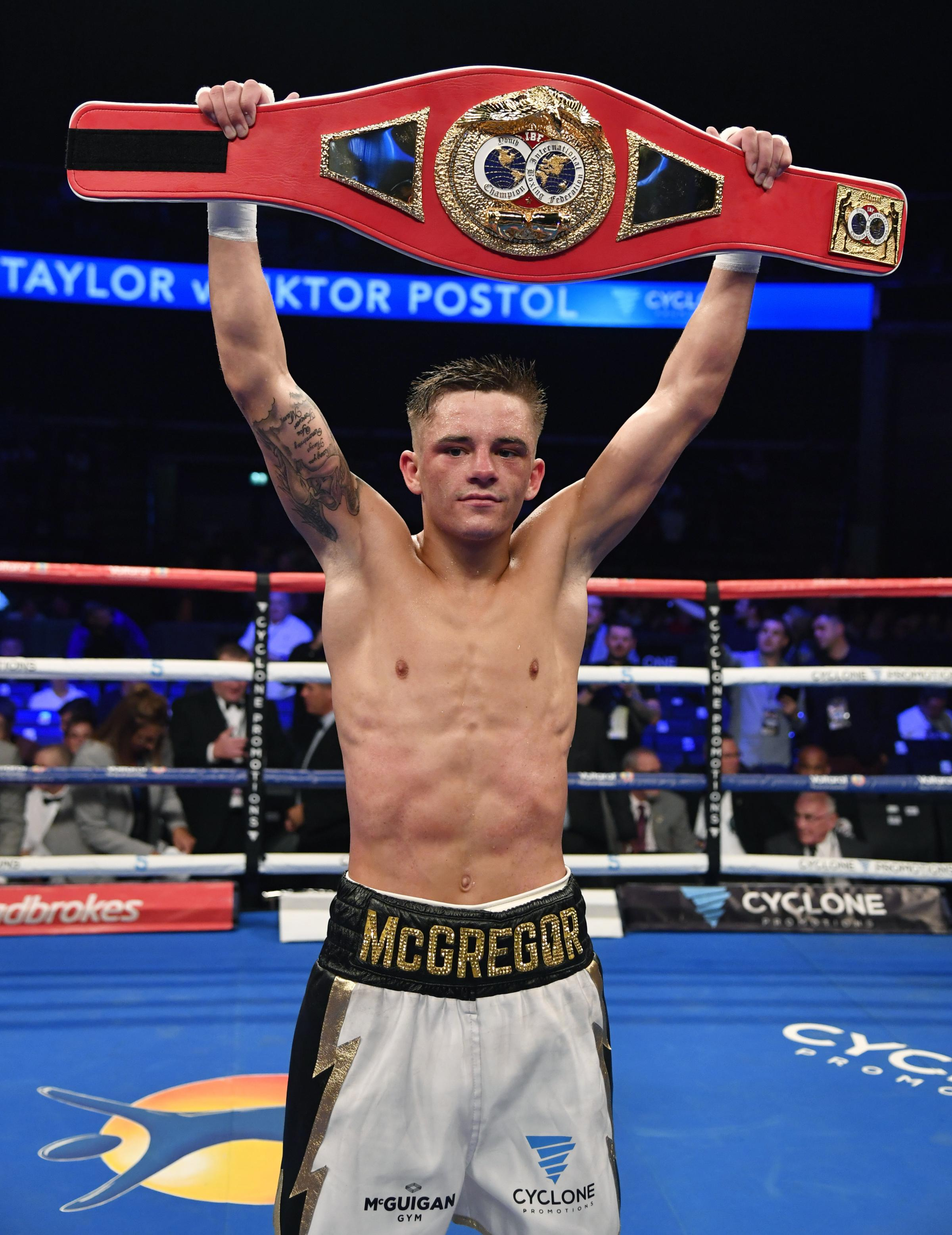 No such luck for Mrema as Lee McGregor seals world IBF youth bantamweight  title | HeraldScotland