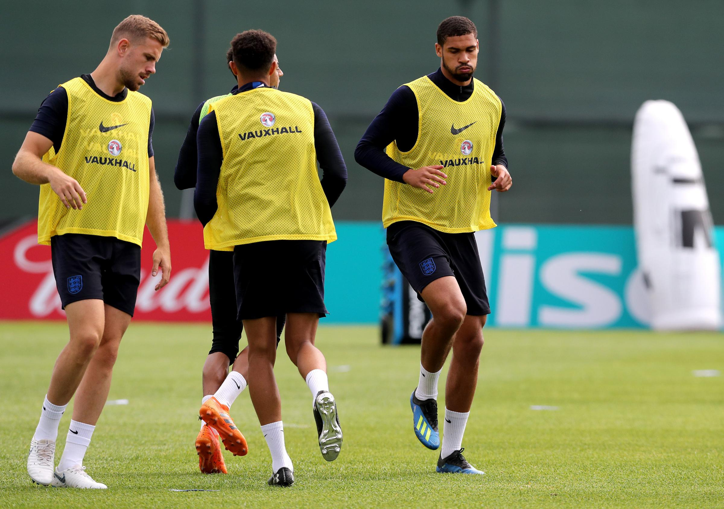 It would be no surprise to see Ruben Loftus-Cheek (right) drafted into the starting XI after showing from bench against Tunisia