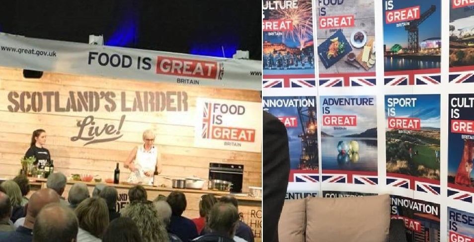 Row over 'Union-Jacking' of Scottish food and landmarks at Royal Highland Show
