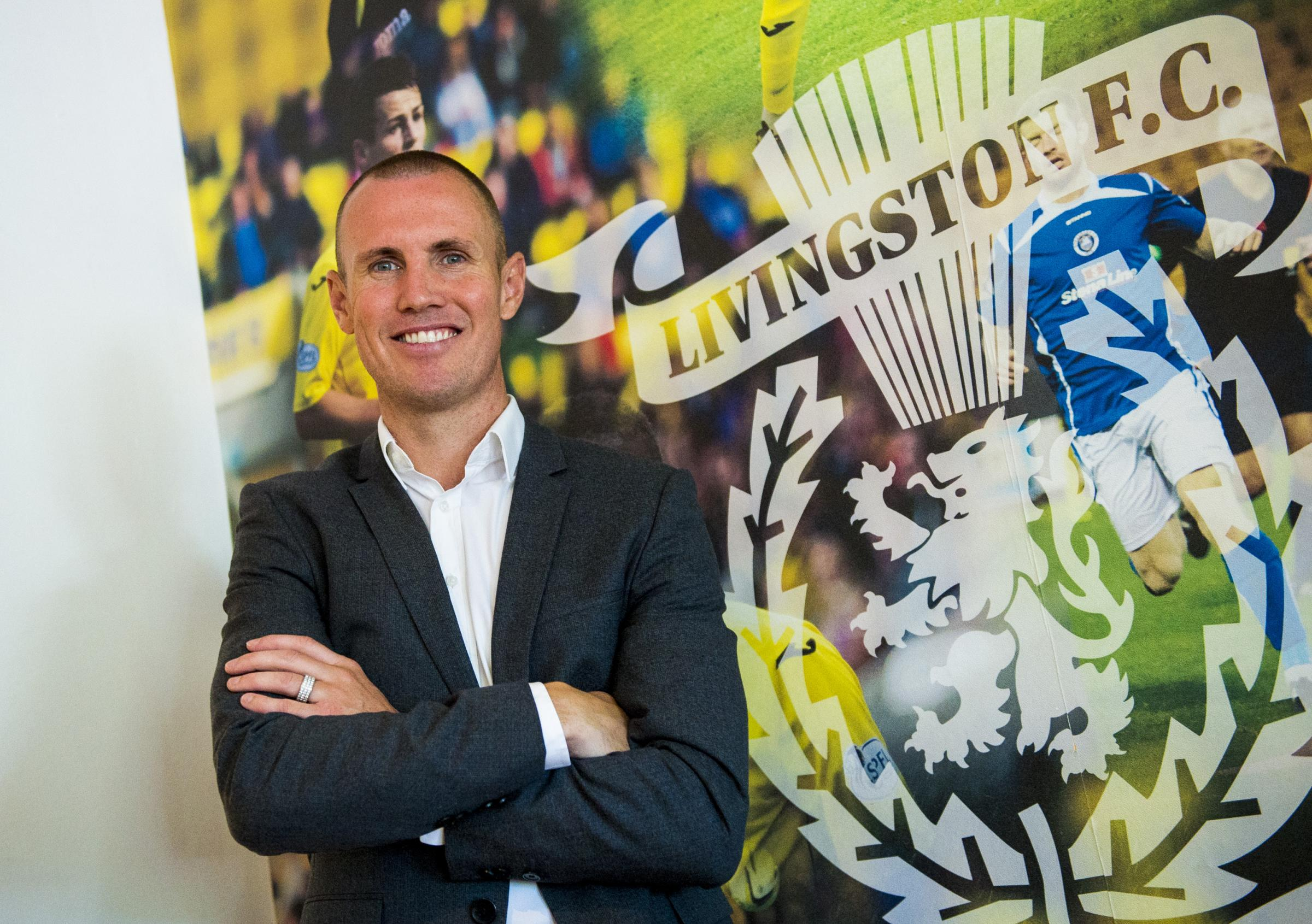 Kenny Miller is unveiled as Livingston's new player-manager.