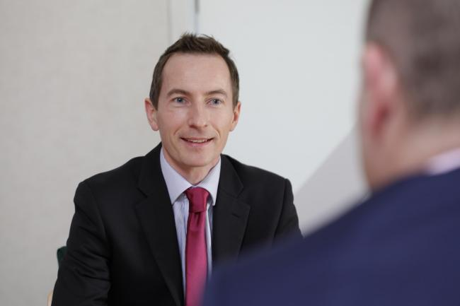 Donald McNaught, head of restructuring at Johnston Carmichael.