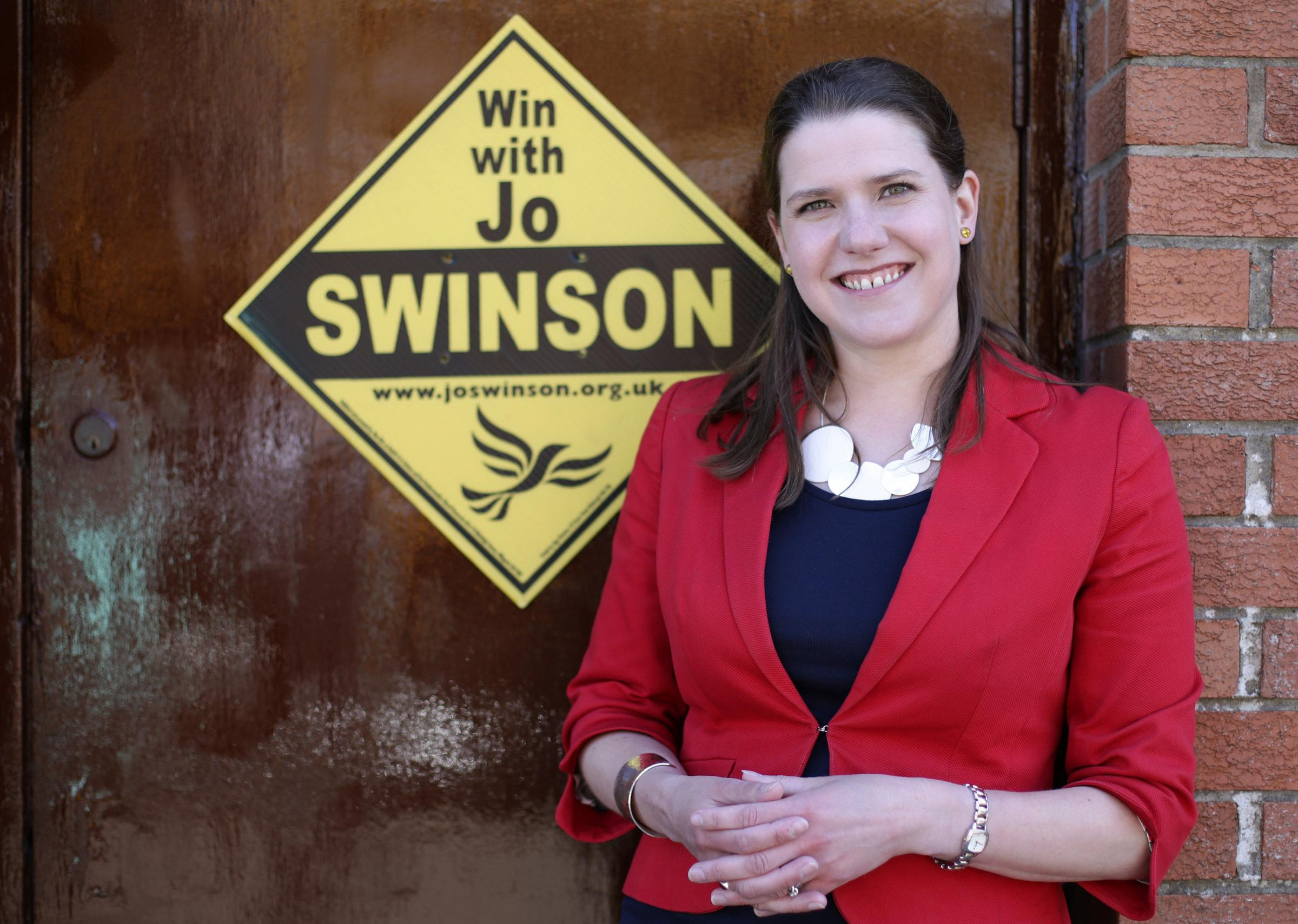 Swinson announces birth of second son