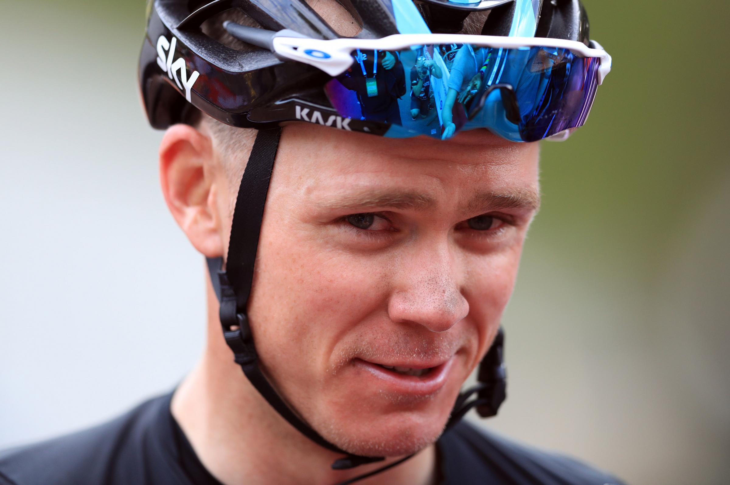 Chris Froome may miss the Tour de France. Picture: PA Wire