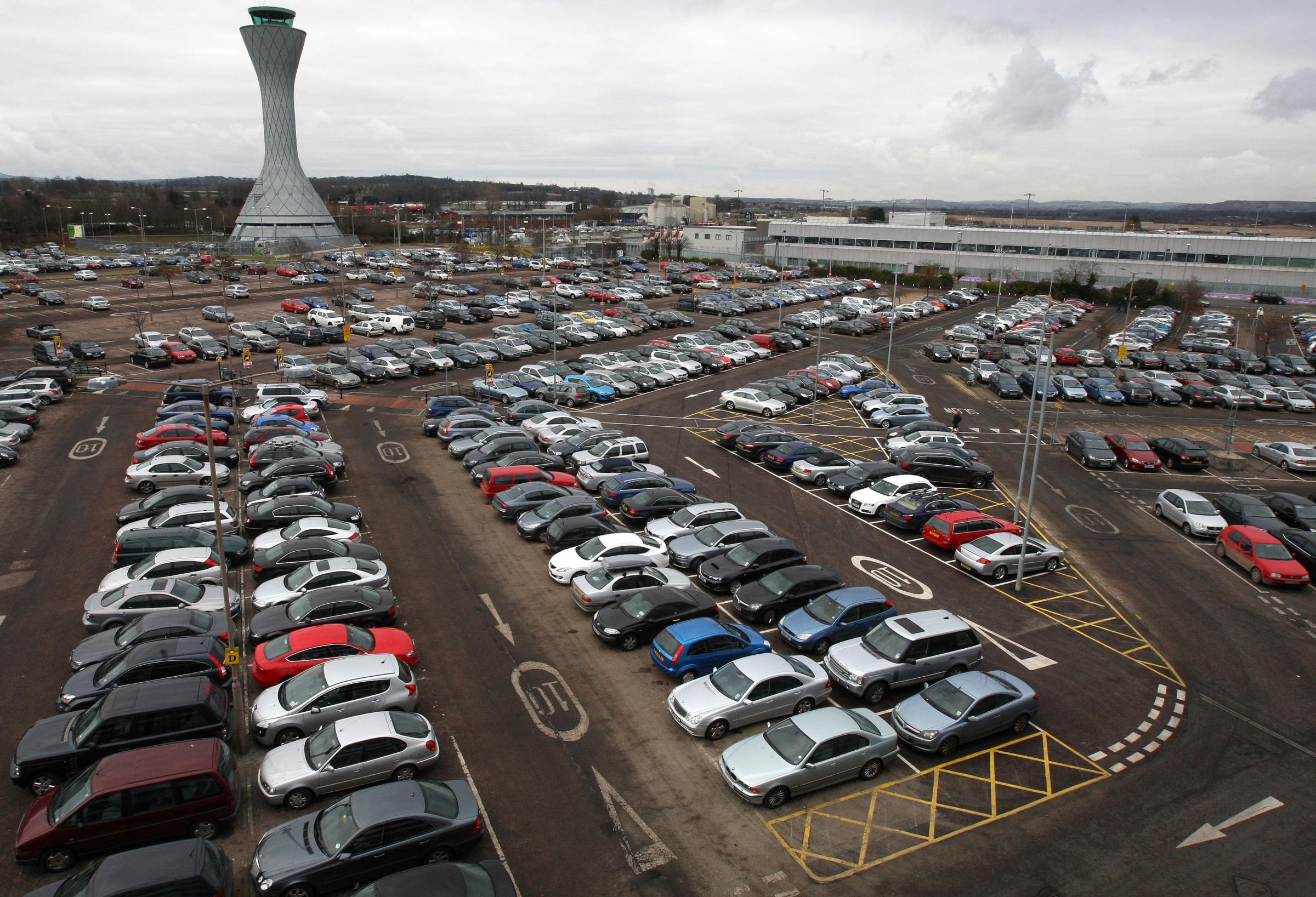 Drivers pay the price as airport parking charges soar