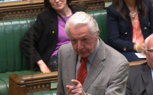 Dennis Skinner, Labour MP for Bolsover