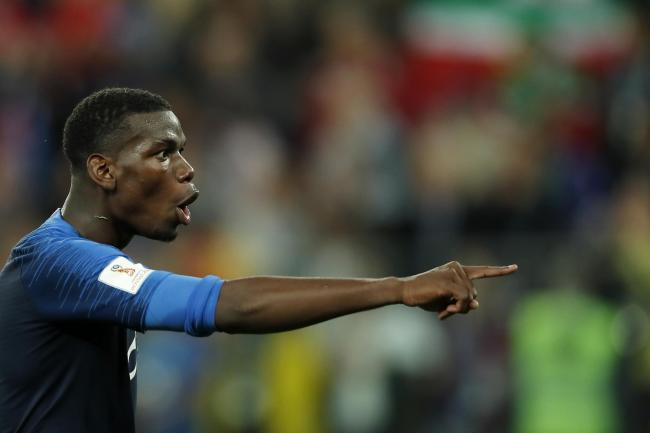 Paul Pogba is thriving with France   Photograph: Getty