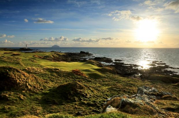 HeraldScotland: Ailsa 10th Green Trump Turnberry