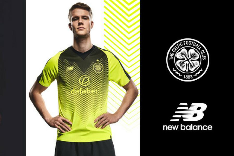 In pictures  Celtic unveil bumblebee third kit for 2018 19 campaign ... 265c1fb95
