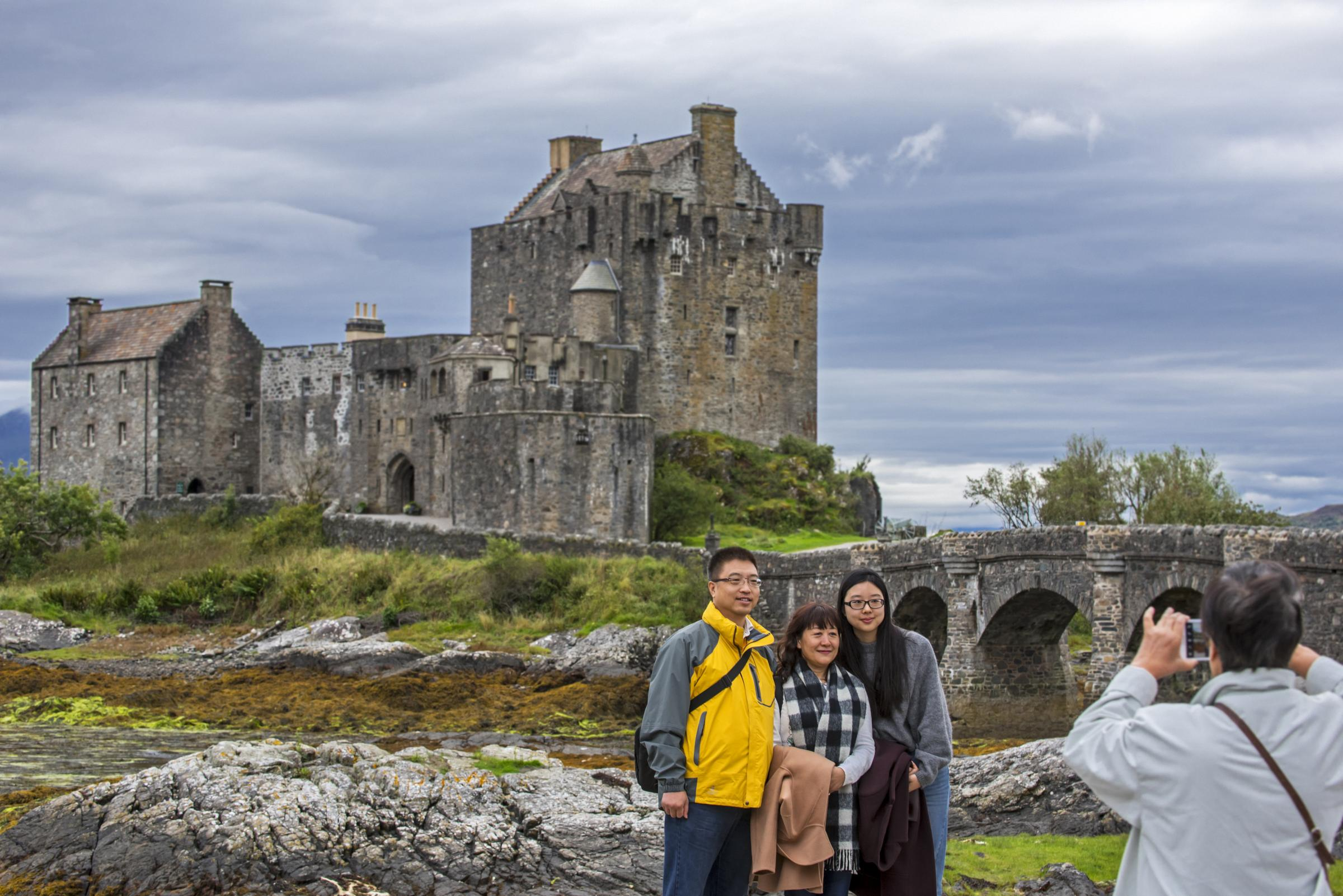 Hundreds of Chinese tourists on bespoke tour to immerse themselves in all things Scottish