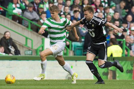 Celtic travel to Rosenborg with a 3-1 lead on Wednesday