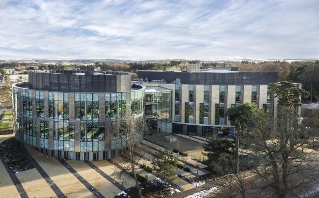 The University of Edinburgh's Easter Bush campus. Image credit © University of Edinburgh, provided by SG Photography Limited