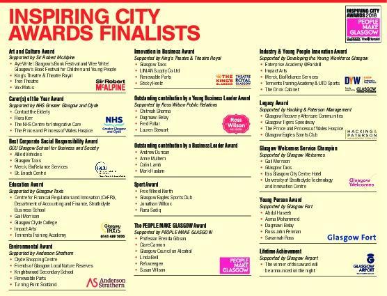 HeraldScotland: inspiring city