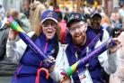 Thousands of volunteers from across the world help at Glasgow 2018
