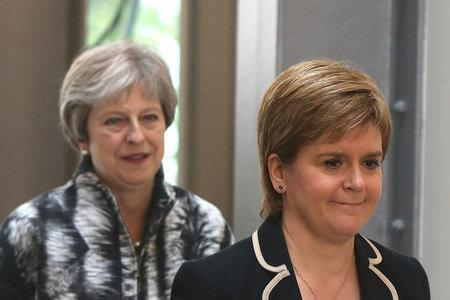 May to successor: Don't trust Sturgeon