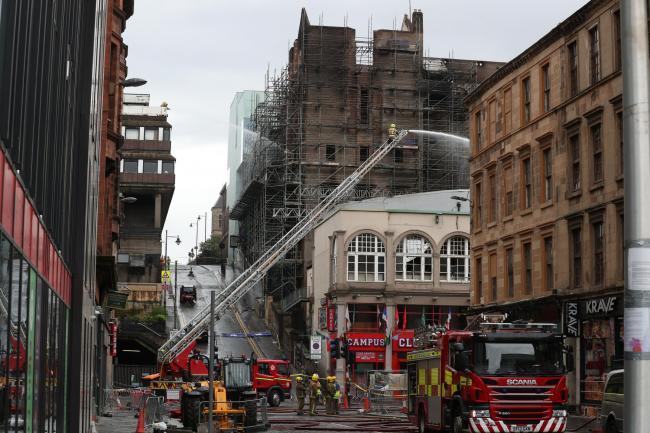 Fire-ravaged Glasgow School of Art facing construction delay