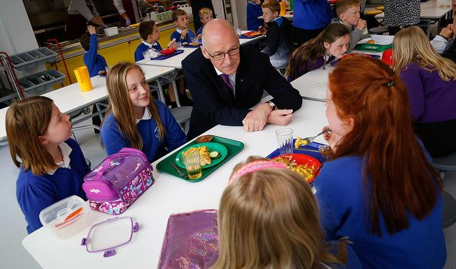 John Swinney. Pic Gordon Terris/The Herald