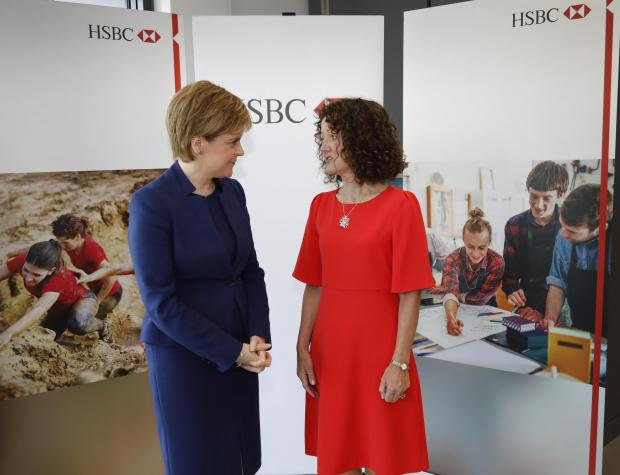 HSBC Scotland chief executive Alison McGregor quits and will