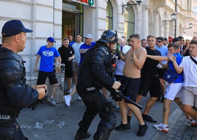 Trouble in Slovenia.  Source: Večer