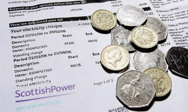 Consumers face energy bill rises as lockdown means power slowdown