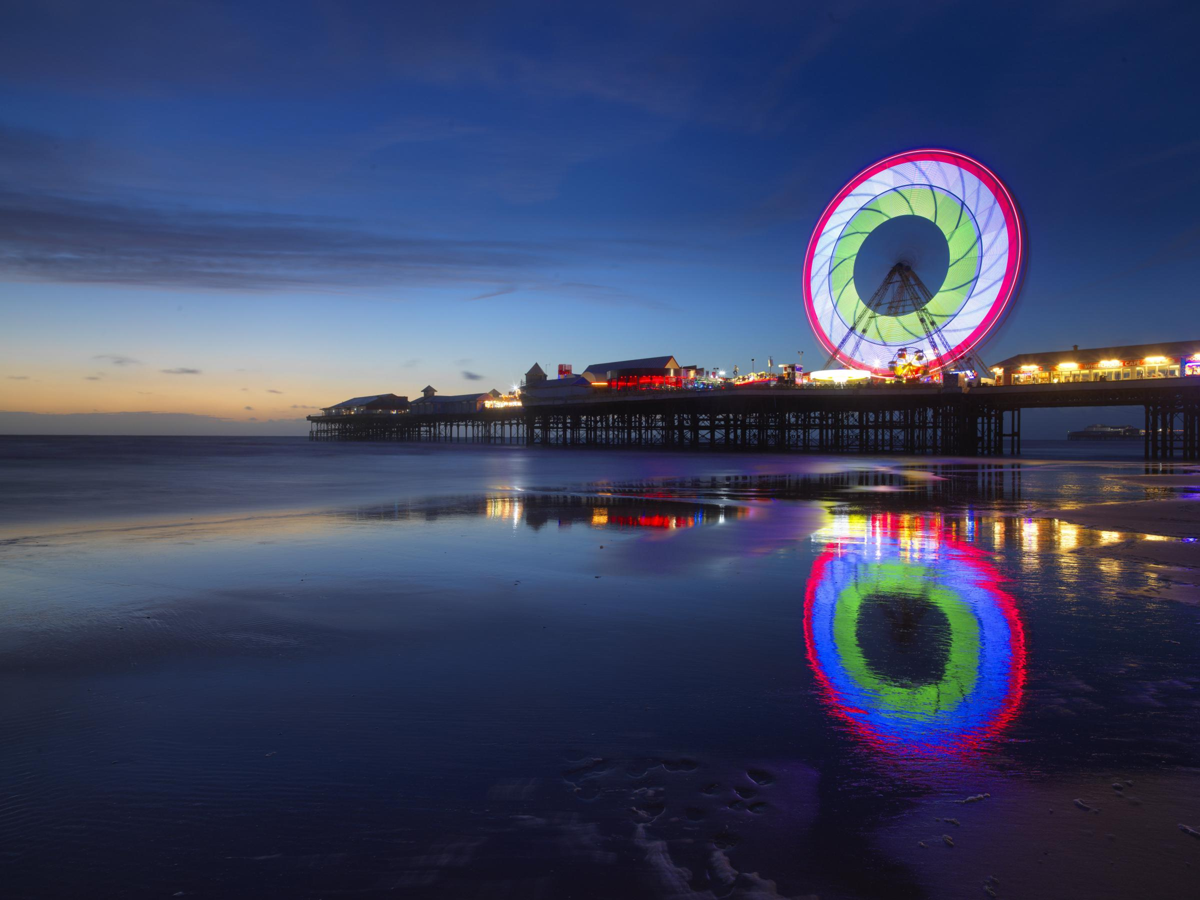 The Blackpool Balancing Act Old Among New At Favourite Resort
