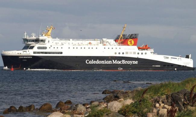 The MV Loch Seaforth is being leased until 2022.