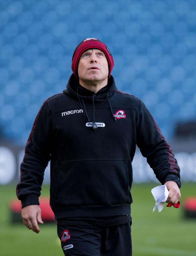 Head coach Richard Cockerill believes Edinburgh have to improve their leadership and game management this season    Photograph: SNS