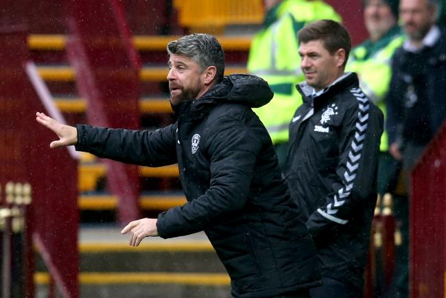 Motherwell manager Stephen Robinson appears in court over partner assault charge