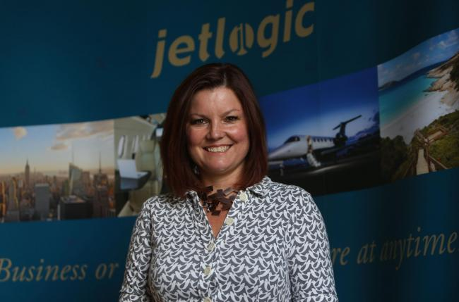 Leigh Mellis enjoys working with clients ranging from football clubs to pop stars at her jet charter firm. Picture: Gordon Terris