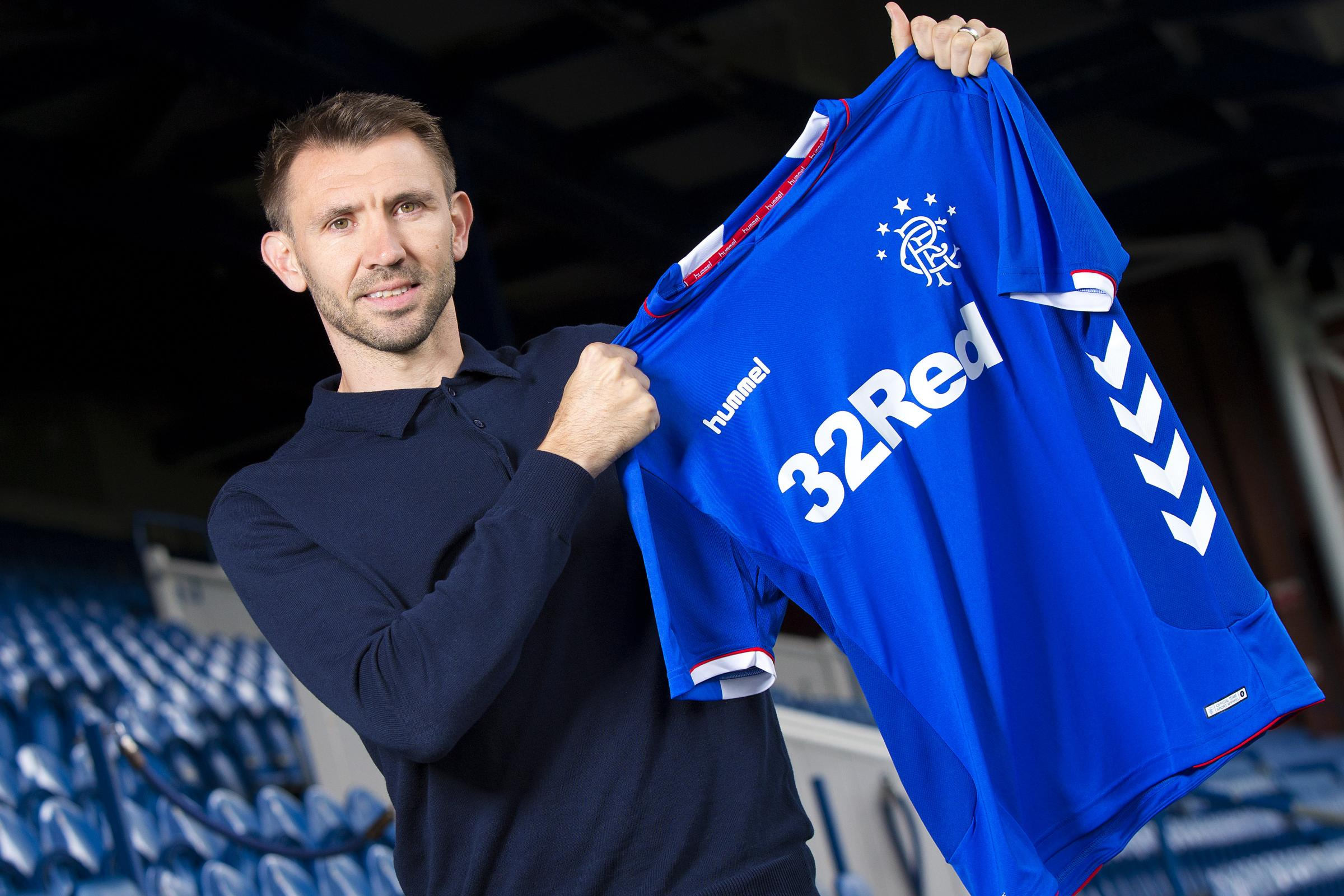 Rangers have signed Gareth McAuley on a one year contract