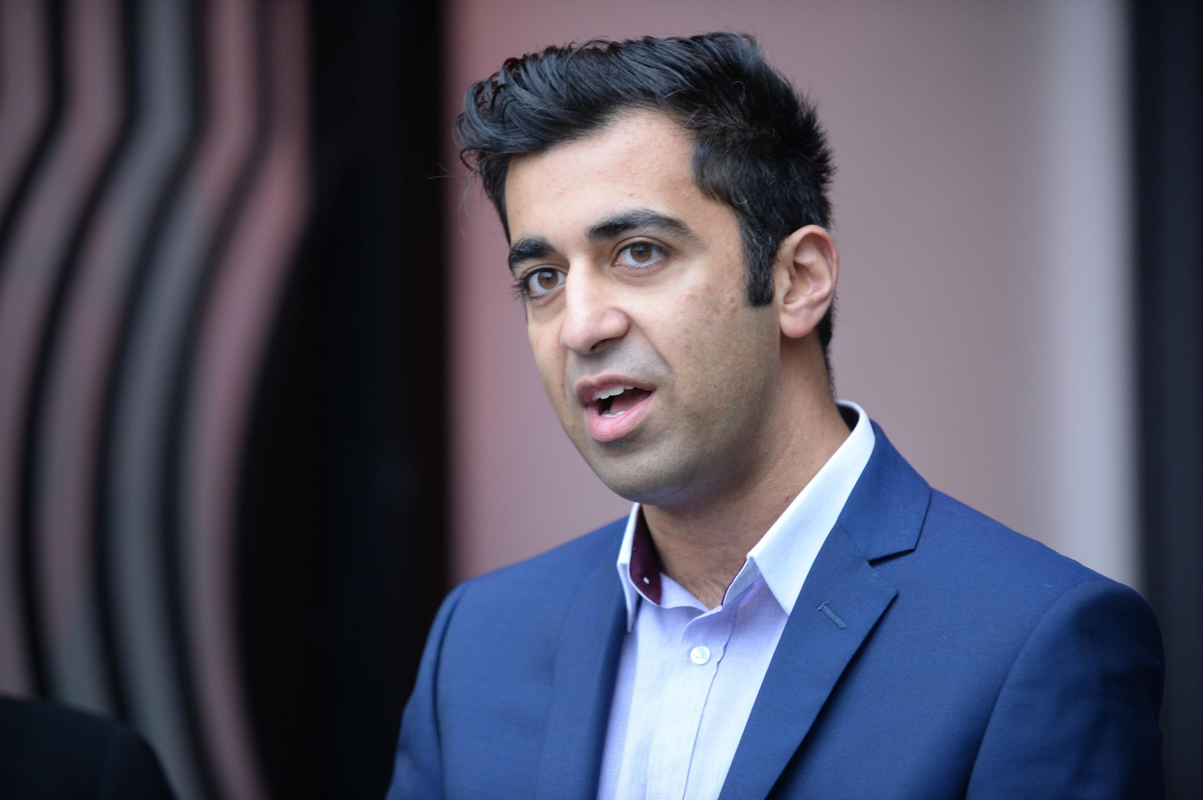 The winner of the Community Links PLUS design competition, which is backed by Sustrans Scotland and the Scottish Government was announced by the Minister for Transport and Islands, Humza Yousaf....12/08/16. (Photo by Kirsty Anderson/Herald & Times) - KA.