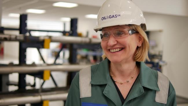 Oil & Gas UK chief executive Deirdre Michie voiced concern about the fall in North Sea exploration