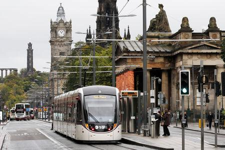 HeraldScotland: Man dies after being hit by tram in Edinburgh