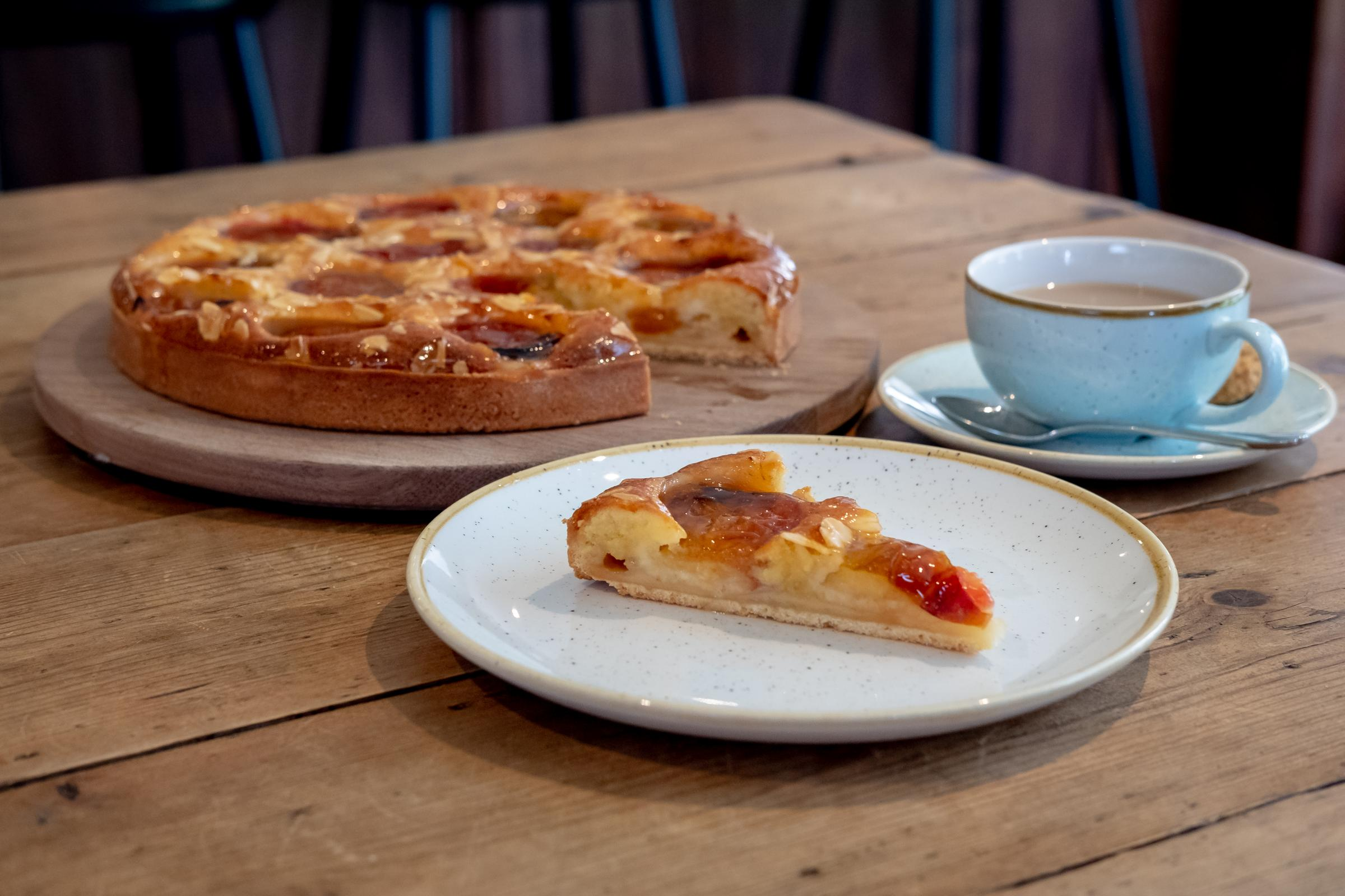 Victoria Plum and Almond Tart by Phil Skinazi, Executive Pastry Chef at Gleneagles