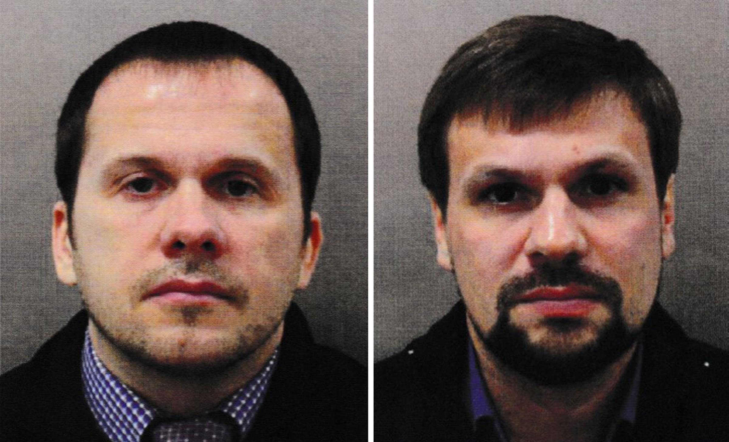 Petrov and Boshirov: claim they went to Salisbury centre as tourists = for just over an hour