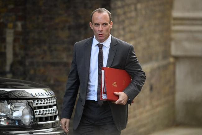 Getting nearer? Raab says substantive differences remain but teams 'closing in on workable solutions'