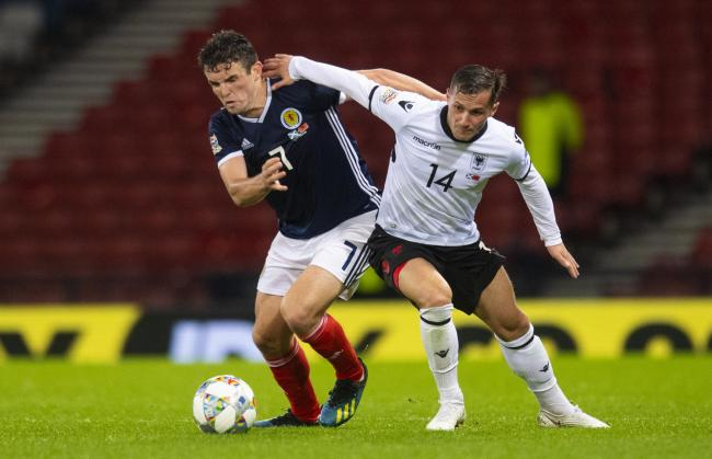 John McGinn says he has learned from making mistakes in the last two matches for Scotland.